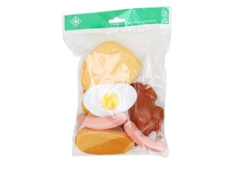 "Набор ""Продукты"" У549 (хлеб, батон, круассан, яичница, курица, сосиски) 1"