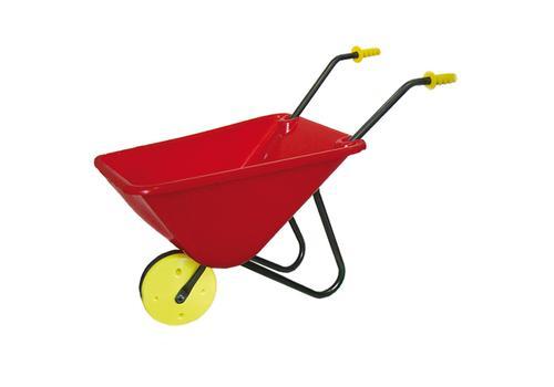 Тачка с одним колесом садовая (тележка) У488 (красная) 1