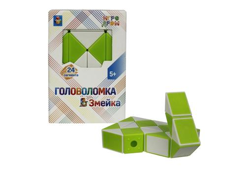 """Головоломка """"Змейка"""" малая (24 сегмента) Т14205 1"""