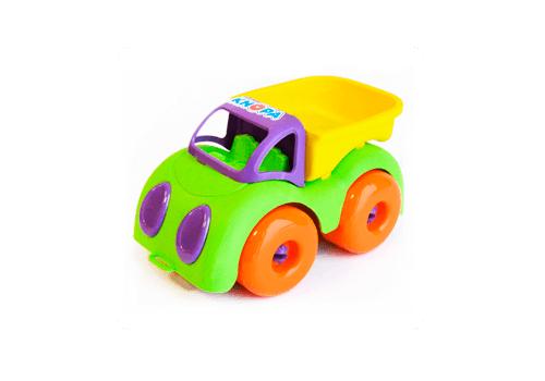 "Машинка ""Грузовик"" 22 см КНОПА (из гибкого пластика ) 86211 1"