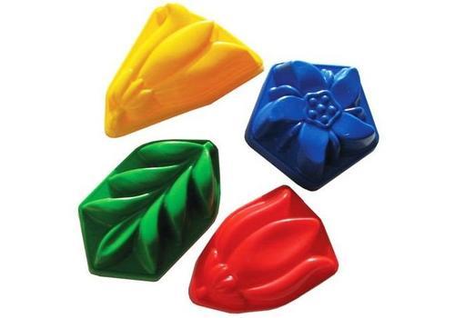 Набор формочек 70014 №1 4 разноцветные формочки 1