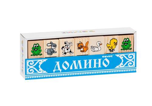 """Домино """"Животные"""" 5555-1 1"""