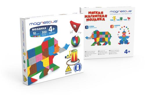 """Мозаика """"Слон/Клоун"""" 300 эл., 10 цв. ММ-10BL/MM-010/24 1"""