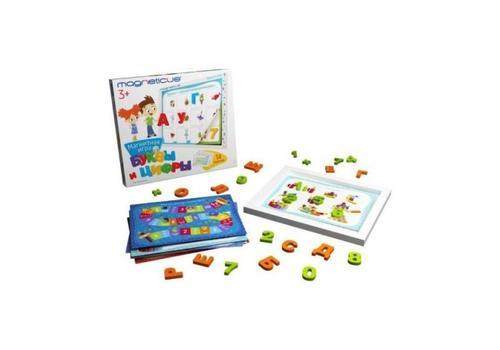 """Игровой набор """"Буквы и Цифры"""" в картон. коробке POL-010 2"""